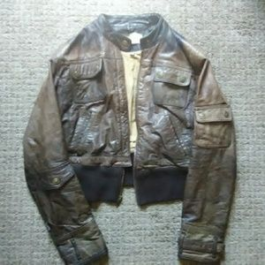 Wilson leather jacket(flawed)